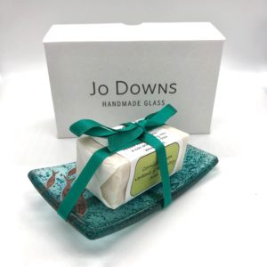 Jo downs Green Samphire Soap Dish