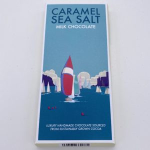 Caramel Sea Salt Kernow Chocolate bar