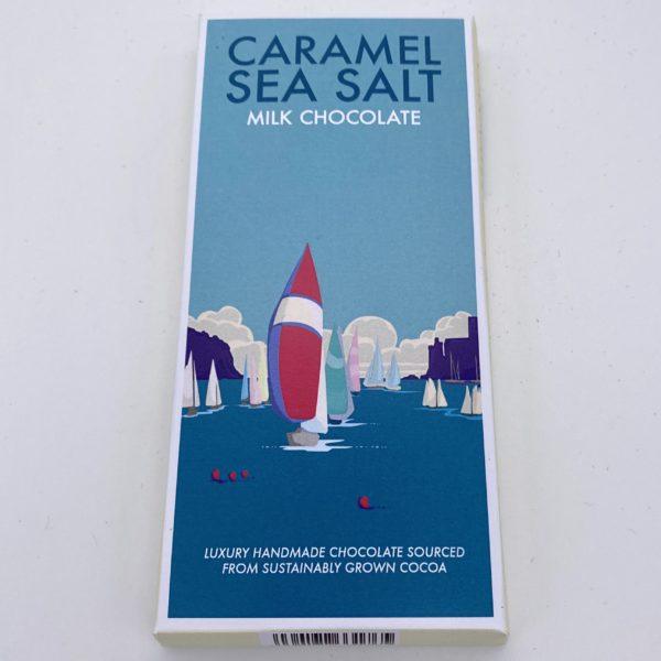 Caramel Sea Salt Kernow Chocolate bar