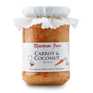 waterhouse fayre carrot and coconut relish