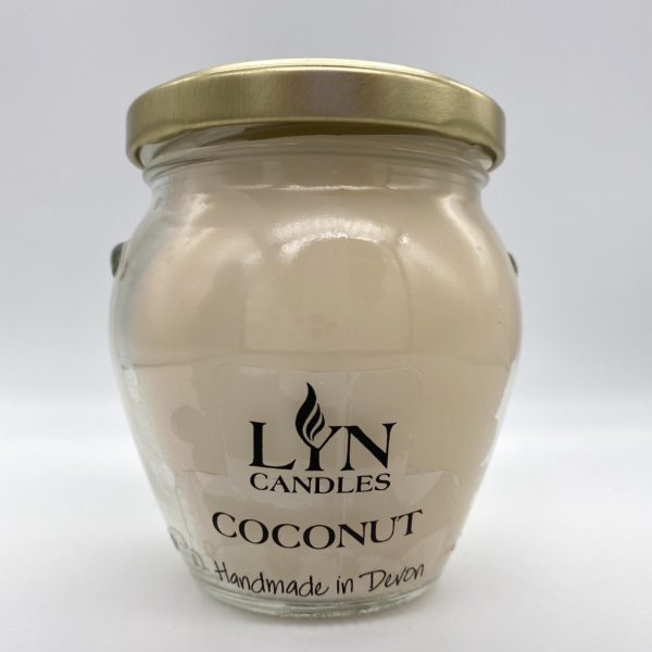 Coconut Scented Lyn Candle