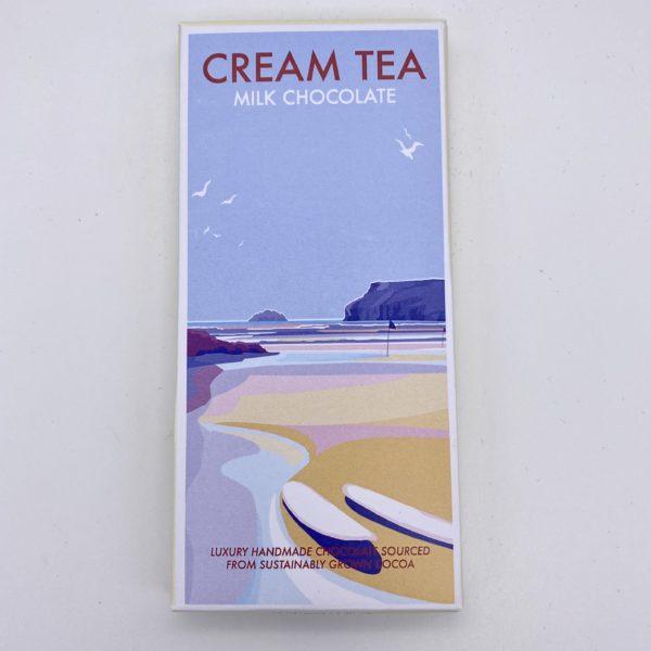 Cream Tea flavoured Kernow Chocolate