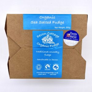 Devon Cottage Sea Salt fudge