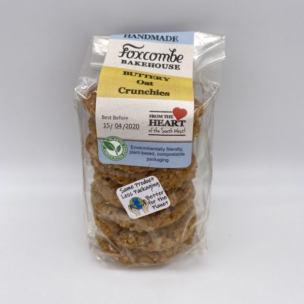 Foxcombe Bakehouse buttery oat crunchies