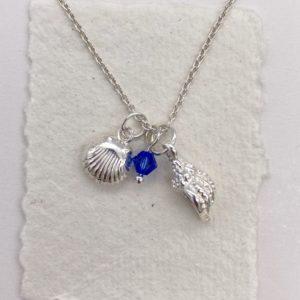 Drop of the Ocean Necklace Deep Blue
