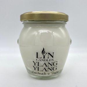Ylang Ylang scented lyn candle