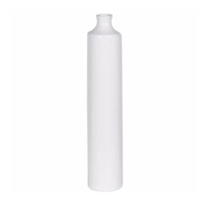 Small Skinny white vase