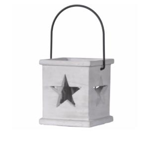 concrete star lantern