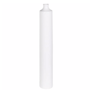 Tall skinny White vase
