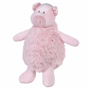 Pink Fluffy Pig Toy