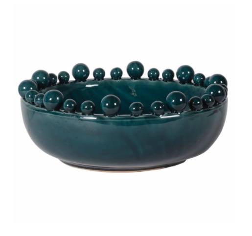 Teal Green Bobble Bowl