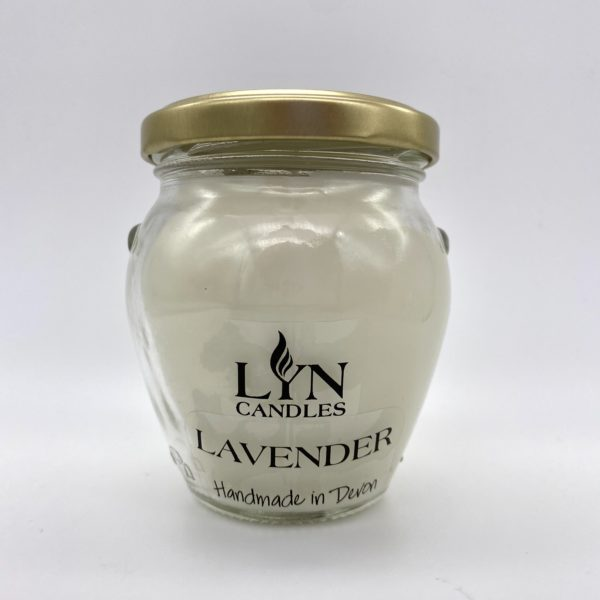 Lavender scented Lyn Candle
