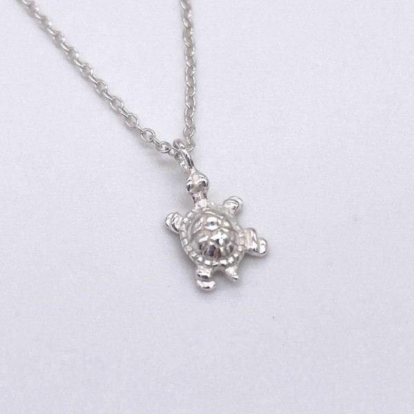 tiny turtle necklace
