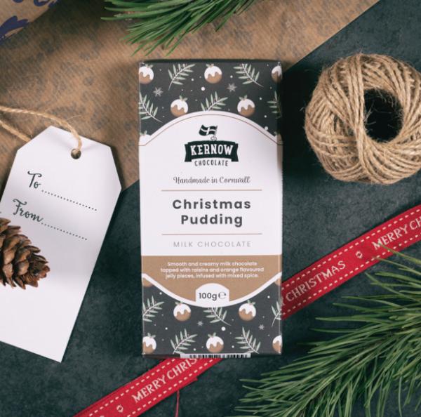 Christmas Pudding Chocolate
