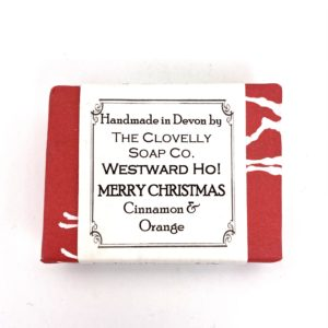 Clovelly Soap Christmas Bar