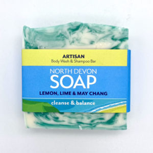 North Devon Soap Lemon Lime & May Chang