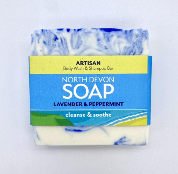 North Devon Soap Lavender & Peppermint