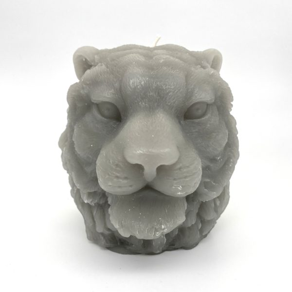 Lion Head Candle