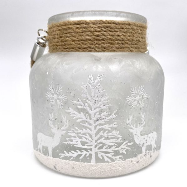 Frosted Forest Lantern