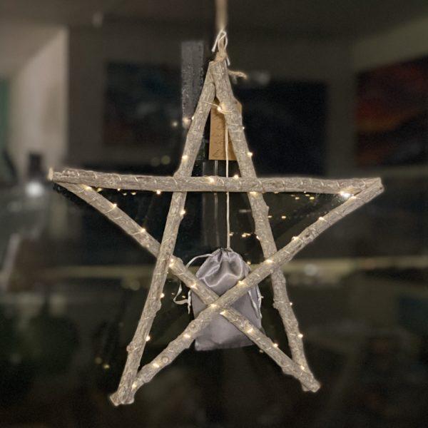 Driftwood LED Star