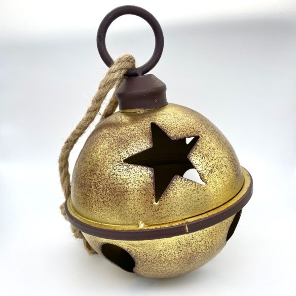 Giant Copper & Gold Bell
