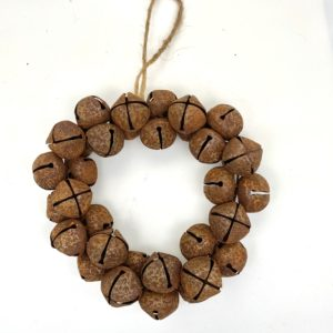 Rustic Copper Bell Wreath