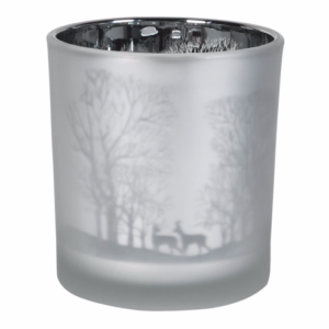 Frosted Forest T-light holder