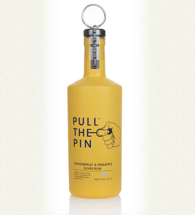Pull the pin passionfruit & pineapple rum