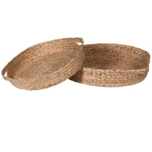 Natural Water Hyacinth Tray