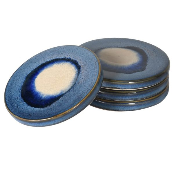 Blue Ombre Ceramic Coaster