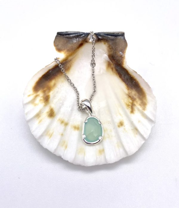 Ocean Droplet Necklace