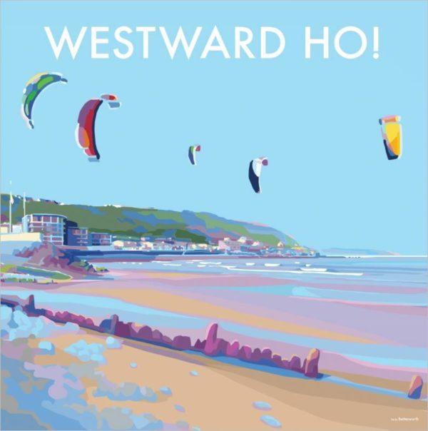Westward Ho Card