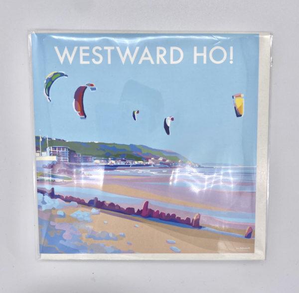 Westward Ho Becky Bettesworth Card