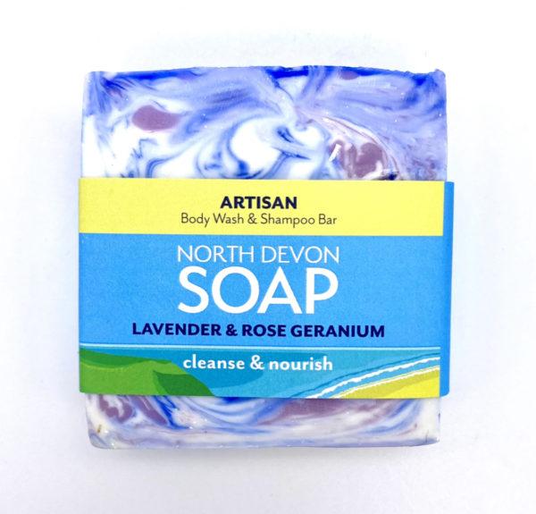 North Devon Soap Lavender & Rose Geranium