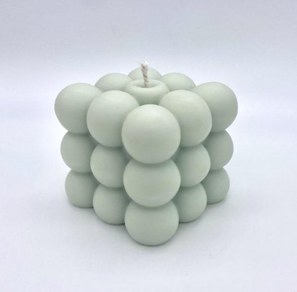 Sea Foam Bubble Candle