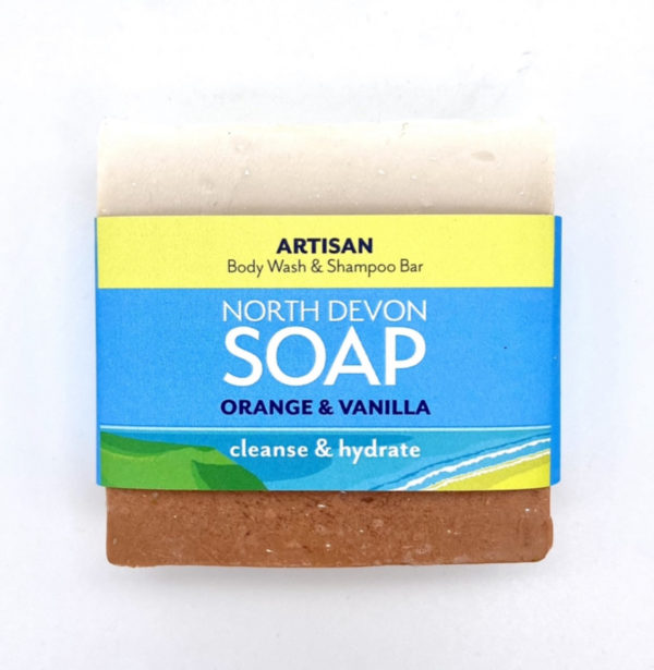 North Devon Soap Orange & Vanilla