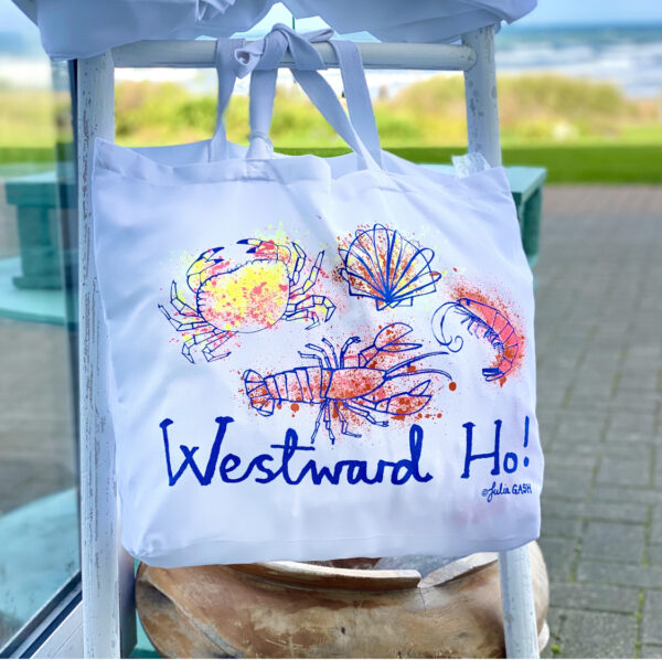 Westward Ho Canvas Bag