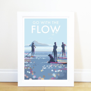 Go With The Flow Print
